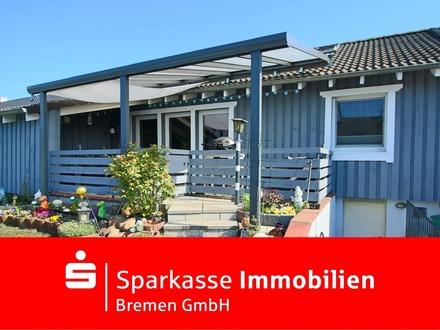 Mit VB: Reihenmittelhaus im skandinavischen Stil mit Garage in ruhiger Wohnlage von Gröpelingen