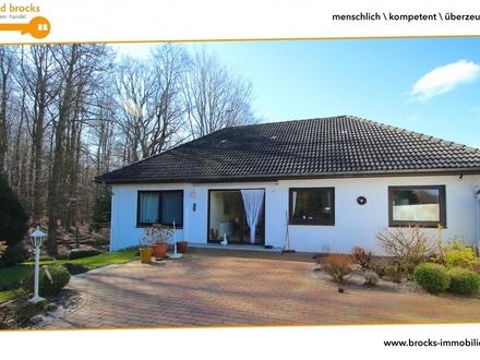 Glücksburg-Meierwik! Wohnen am Wasser u. Wald! Offen gestaltetes EFH! EBK, Loggia, Garage uvm!