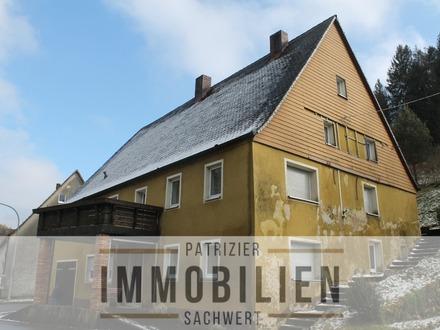 Renovierungsbedürftiges Mehrfamilienhaus in Weigendorf / Högen zu verkaufen.