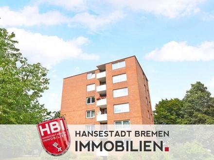 Huchting / Helle und gepflegte 2-Zimmer-Wohnung mit Balkon