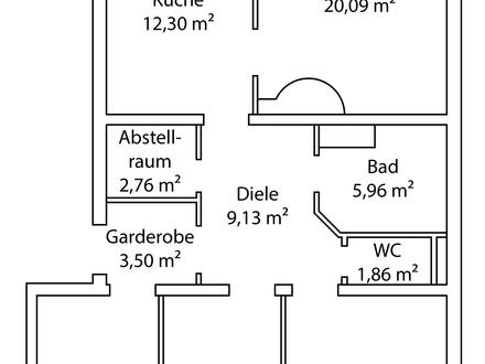Geräumige 89 m²-Wohnung in Radstadt/Höggen sucht einen Mieter!