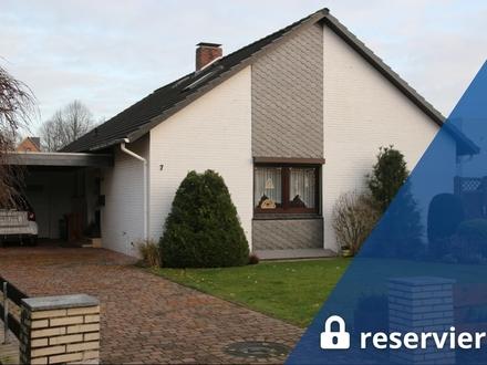 Bremerhaven-Wulsdorf: Gepfl. EFH mit großem Grundst., Garage u. Keller in gefragter Lage, Obj. 5433