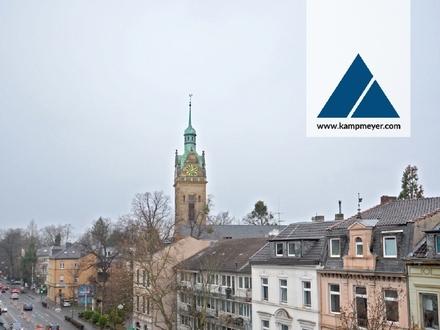 Freier Blick auf die Lutherkirche