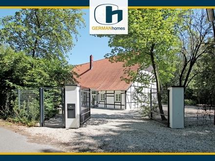 PROVISIONSFREI für Käufer – Kernsaniertes Fachwerkhaus in reizvoller Alleinlage von Beckum