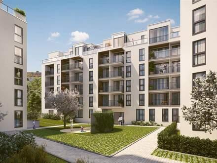 3 Zimmer und 2 Balkone sorgen für einzigartiges Wohnflair
