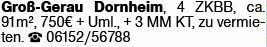4-Zimmer Mietwohnung in Groß-Gerau (64521)