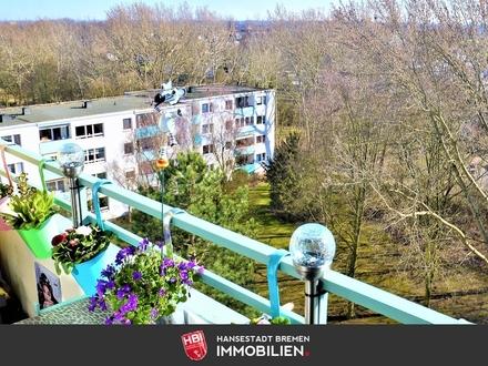 Kapitalanlage: Arbergen / Schöne 2-Zimmer-Wohnung mit Süd-Loggia