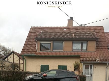 Wernau, ältere DHH in TOP-Randlage, großzügige Erweiterung/Neubau möglich