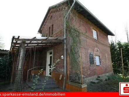 Haus für Bastler und Bahnnostalgiker
