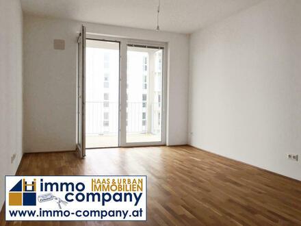 Neu-Leopoldau: Erstbezug: 2-Zimmer-Wohnung mit 54 m² plus Balkon im 1. Liftstock