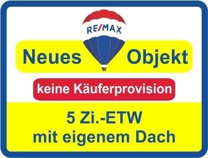 """Kaufen Sie ab € 213,- mtl.*/ 5 Zi.-ETW unter einem """"eigenem"""" Dach & Garage! Keine Käuferprovision!"""