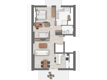 Exclusive Penthousewohnung in kleiner Wohnanlage
