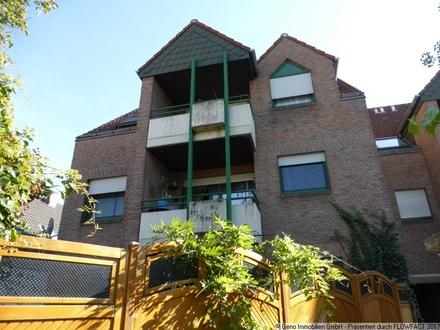 Tolle Singlewohnung in Wiedenbrück! 2-ZKB-Wohnung mit Balkon