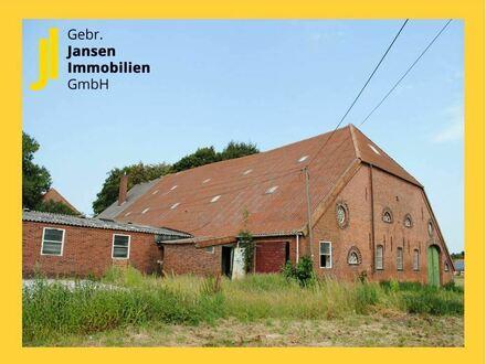 Ihr eigener Gulfhof! Altertümliches Friesenhaus auf großzügigem Grundstück!