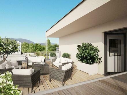 4 Zimmer Penthouse mit Ausblick ins Grüne in Graz Straßgang - provisionsfrei