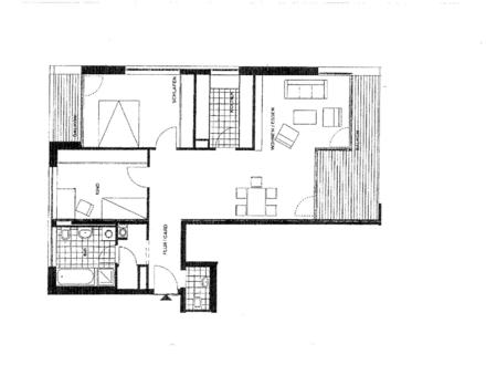 Helle 3,5 Zimmer-Wohnung mit 2 Balkone, EBK, Lift und TG Stellplatz im Verlagsviertel von Darmstadt