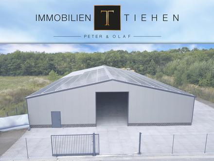 Neue Lagerhalle im Gewerbegebiet Twist-Rühlerfeld, ca. 800 qm Nutzfl., Autobahnauffahrt vor der Tür