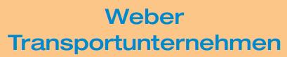 Weber Transportunternehmen
