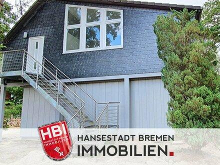 Oberneuland / Moderne 6-Zimmerwohnung mit Süd-Balkon und Einbauküche in ruhiger Lage