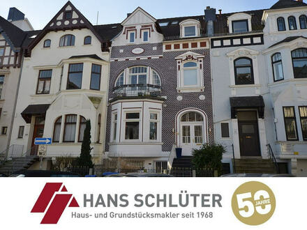 Urbanes Wohnen im Jugendstilhaus! Moderne 2 Zi.- Maisonette Wohnung mit 2 Dachterrassen!