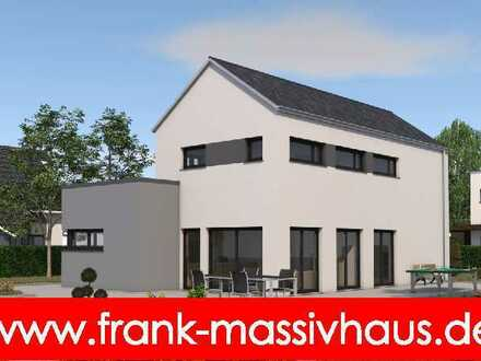 modernes Einfamilienhaus mit großzügiger Dachterrasse