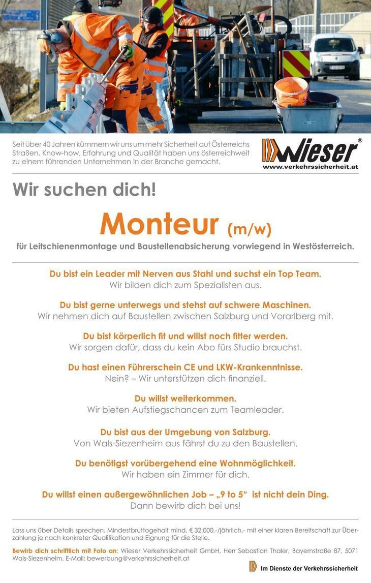 Seit über 40 Jahren kümmern wir uns um mehr Sicherheit auf Österreichs Straßen. Know-how, Erfahrung und Qualität haben uns österreichweit zu einem führenden Unternehmen in der Branche gemacht.