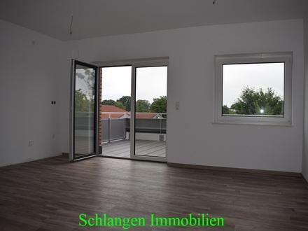 Objekt Nr: 00/694 Betreutes Wohnen in Barßel - Erstbezug - Dachgeschosswohnung mit großzügiger Terrasse