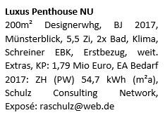 Luxus Penthouse NU