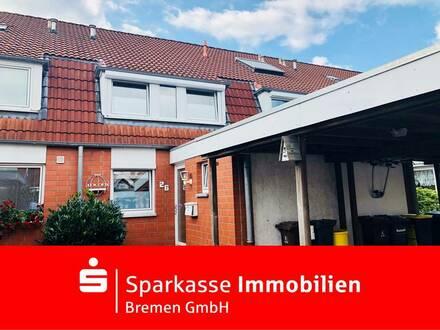 Schickes und modernisiertes Reihenhaus in gefragter Wohnlage in Habenhausen