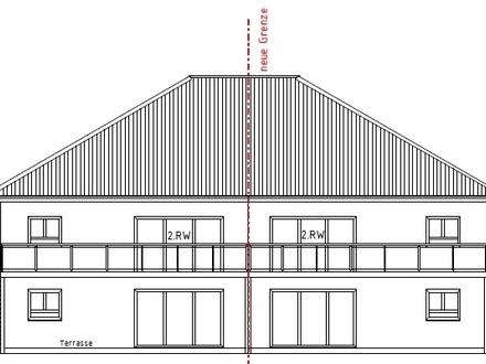 Kirchlengern Neubauprojekt - 2 komfortable 3-4 Zi. Obergeschoss-Wohnung - mit Balkon in einer DHH