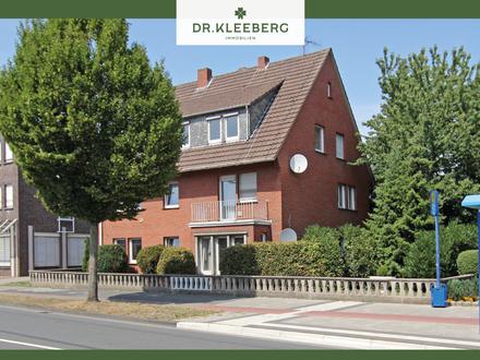 Renovierungsbedürftiges Dreifamilienhaus mit attraktivem Grundstück in zentrumsnaher Lage von Rheine