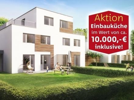 BESICHTIGUNG Sa+So ab 10 Uhr | Doppelhaushälfte | 6 Zimmer - 130 m² Wfl. | 280 m² Süd-Grundstück