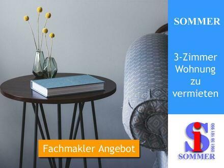 Weiden | Erdgeschoss 3 Zimmer Küche (EBK) Bad Balkon