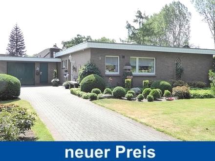 Liebevoll gepflegter Bungalow m. Nebengebäude / Garage u. großzügigem Garten in Edewecht-Osterscheps