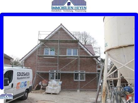 !!!Neubau-Erdgeschosswohnung mit großem Grundstück in Papenburg am Obenende!!!