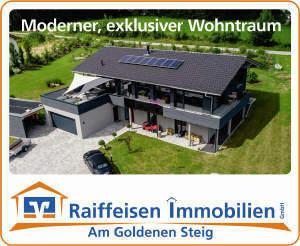 Moderner Wohntraum in exklusiver Aussichtslage in Waldkirchen