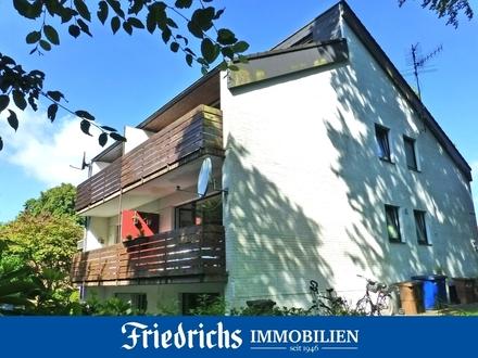 Möblierte Dachgeschosswohnung mit Galerie und Balkon in Bad Zwischenahn-Rostrup
