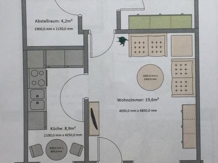 Neuwertige Seniorenwohnung in Mildstedt zu vermieten