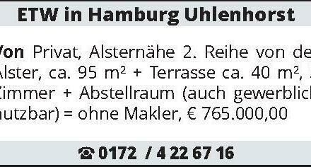 ETW in Hamburg Uhlenhorst