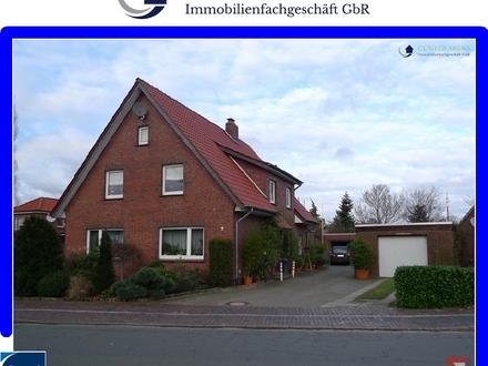 3,5 Zimmer Oberwohnung mit Dachterrasse, EBK und Garage in Westerstede