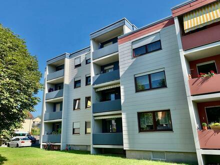 In schöner Lage am Hammerweg! Gepflegtes Apartment mit Stellplatz und Süd-Balkon