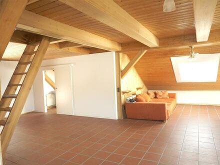 ARNOLD-IMMOBILIEN:Geräumige Dachwohnung mit Ausblick