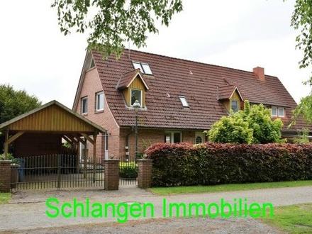 Objekt Nr. 19/819 Renditeobjekt - Wohnhaus mit 3 Wohneinheiten im Feriengebiet Saterland - OT Strücklingen