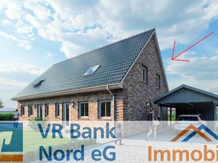 Neubau eines Doppelhauses im KfW 55-Standard (opt. mit Carport) in Bahnhofsnähe