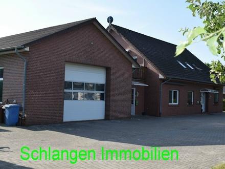 Objekt Nr. 19/822 Wohn- und Geschäftshaus mit Hallengebäude im Seemannsort Barßel