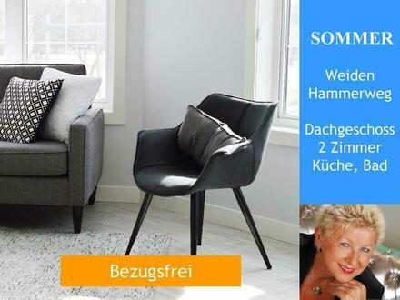Weiden - Hammerweg > 2-Zimmer Dachgeschoßwohnung