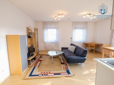Möblierte 2-Zi.-Wohnungen mit EBK, Balkon, Stellplatz / furnished 2 room apt. with parking lots