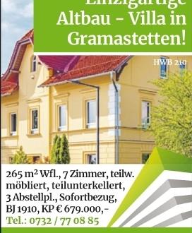 7-Zimmer Haus in Gramastetten (4040) 265m²
