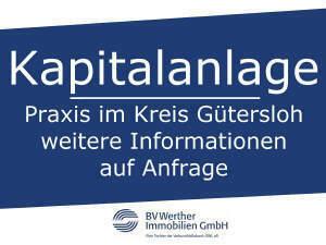Kapitalanlage - Praxis im Kreis Gütersloh
