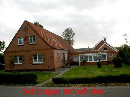 Objekt Nr. 18/730 Seemannsort Barßel - Resthof mit separater Ferienwohnung und Weide